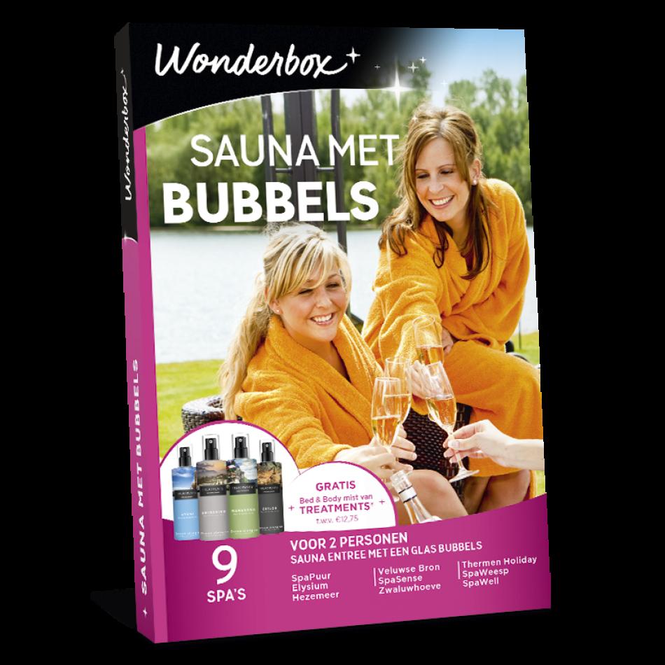 Wonderbox - Sauna met Bubbels